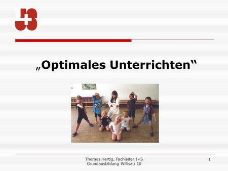 """Optimales Unterrichten"""