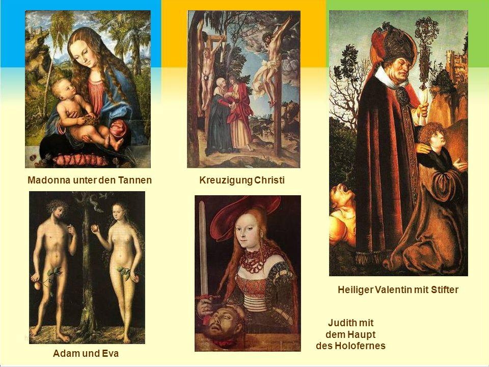 Martin Luther Ehegattenbildnisse eines Gelehrten und seiner Frau Melancholie Hirsch- und Eberjagd