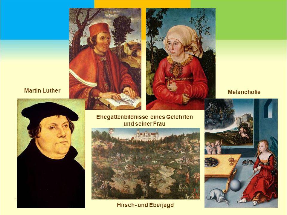 Martin Luther Mesalians Lucas Cranach der Ältere
