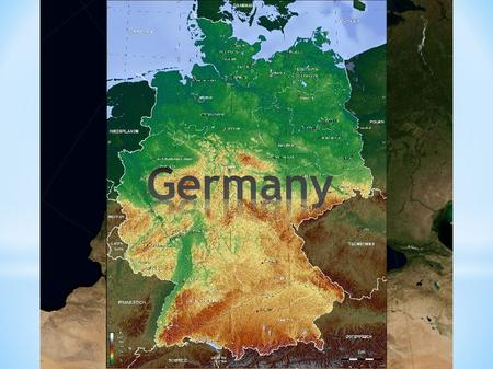 360 000 km² 82 mio. inhabitants capital: Berlin 16 federal states.