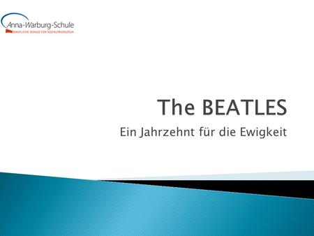 Ein Jahrzehnt für die Ewigkeit.  1. 1963 – Please Please Me & With The Beatles  2. 1964 – A Hard Day´s Night & Beatles For Sale  3. 1965 – Help! &