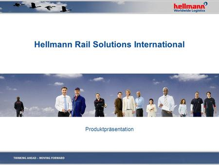 Hellmann Rail Solutions International Produktpräsentation.