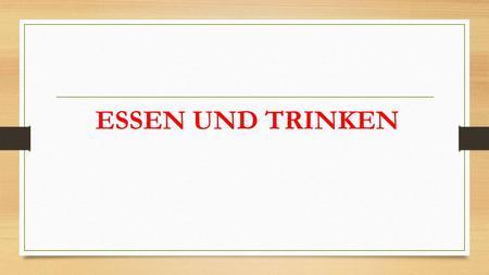 Traditionelles deutsches essen name ppt herunterladen for Traditionelles deutsches haus
