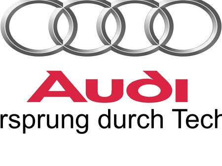 Vorsprung durch Technik. Produkte Audi A3 A3 (Attraction, Ambition, Ambiente) S3 A3 Sportback (Attraction, Ambition, Ambiente)  Abb. zeigt A3 Sport.