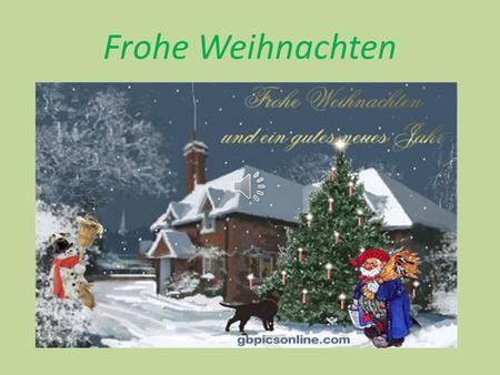 Weihnachten am 24 dezember feiern die deutschen - Weihnachten ppt ...