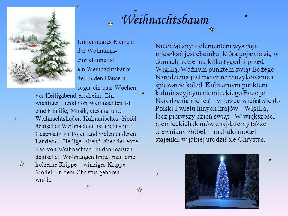 Weihnachtslieder Während Weihnachten werden die Weihnachtslieder gesungen, darunter ist ein der bekanntesten, die im Jahr 1818 von den Österreichern: ein Priester Franz Gruber und Organist Joseph Mohr - Stille Nacht, Heilige Nacht komponiert wurde.