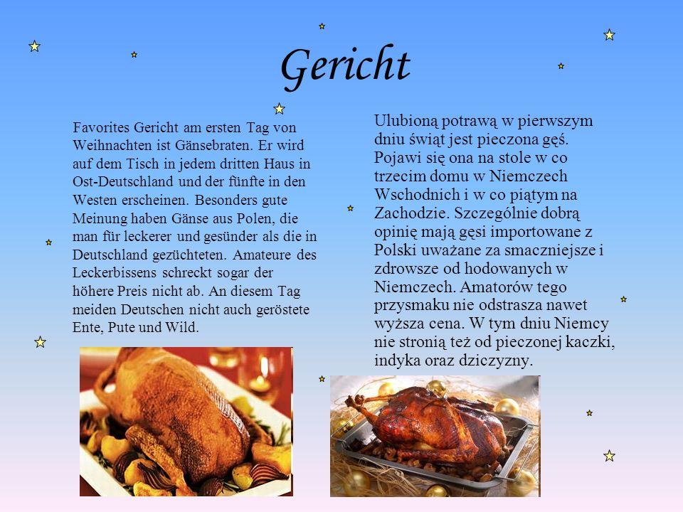 Kuchen Eine weitere wunderbare Tradition der deutschen Weihnachten ist das Backen der Weihnachtsplätzchen aus Ginger, die in Form von Menschen und Häuser sind.