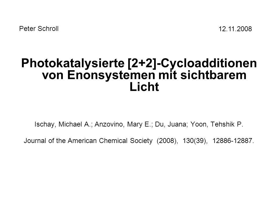 [2+2]-Cycloadditionen - Grundlagen Orbitalbetrachtung: