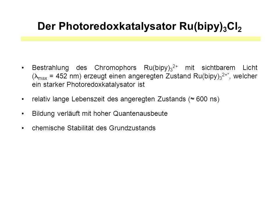 Ergebnisse mit strukturell variierten Enonsystemen AnsatzSubstratCycloadduktZeitAusbeutedr 1 R = Ph50 min89%>10:1 2 R = 4-MeOPh20 min98%10:1 3 R = 4-ClPh10 min96%>10:1 4 R = 2-furyl30 min89%>10:1 5 R = Me22 h0%- 6 R = OEt17 h0%-
