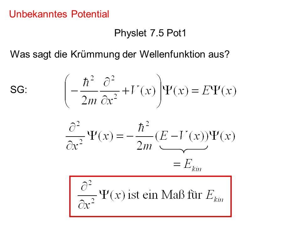 Lösung: E x V(x)