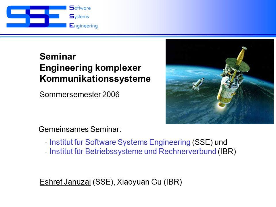 Eshref Januzaj Software Systems Engineering TU Braunschweig Seite 2 Inhalt Zusammenfassung, Fragen4.