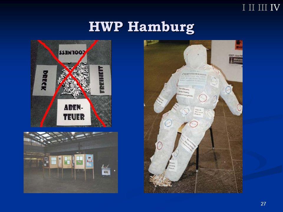 28 HWP Hamburg I II III IV