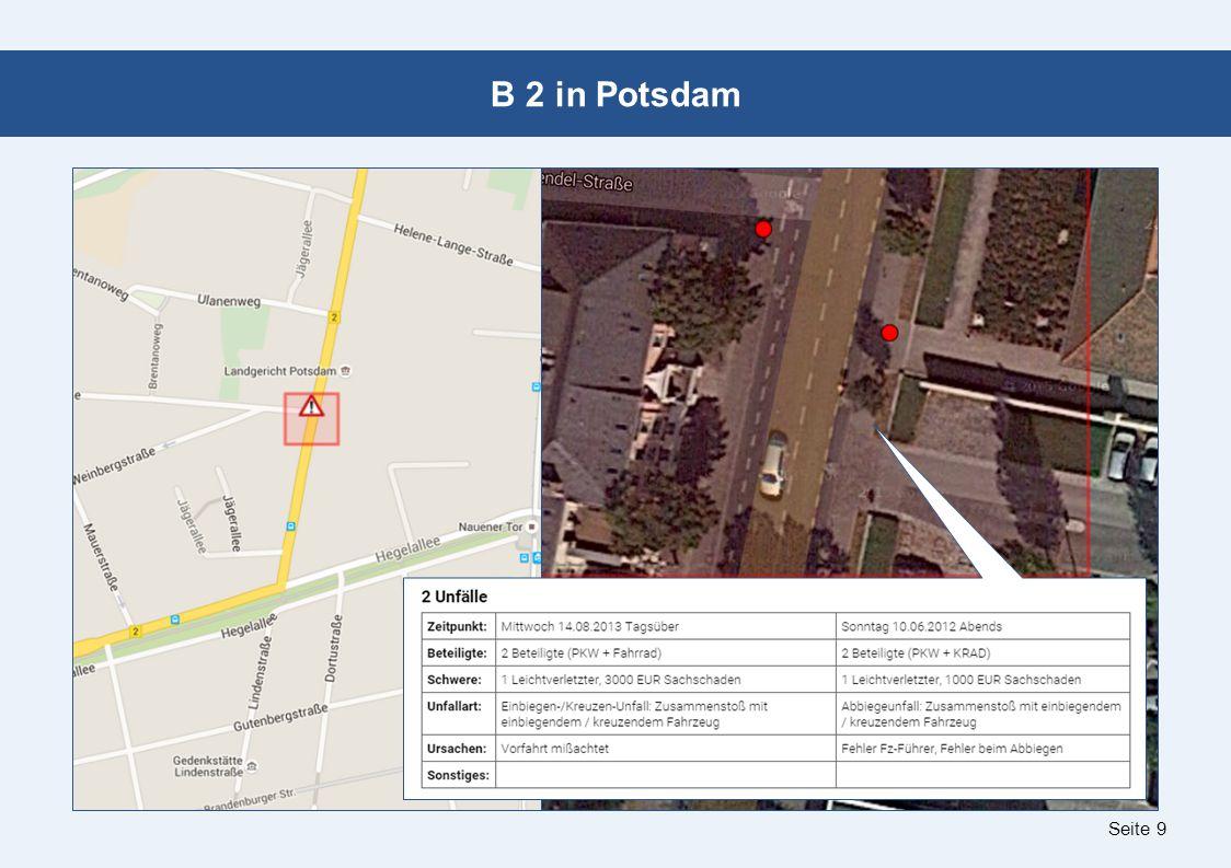Seite 10 B 1 in Potsdam