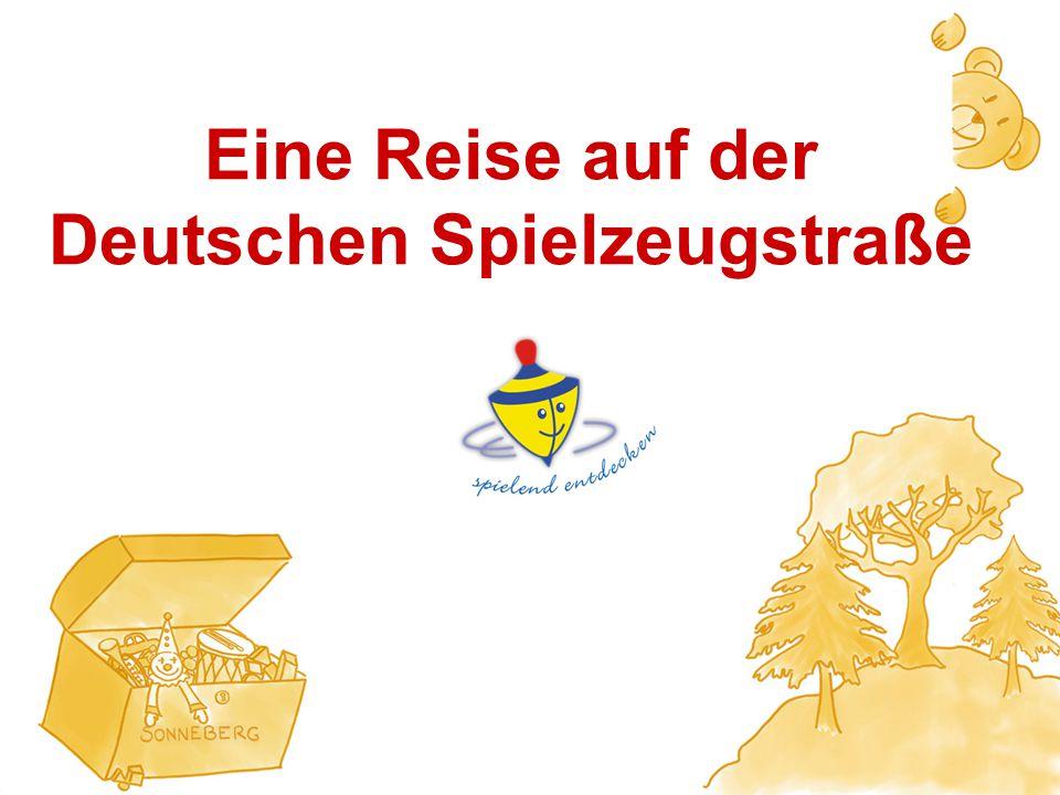 Herzlich Willkommen zur Pressekonferenz der Deutschen Spielzeugstraße am 23. März 2009