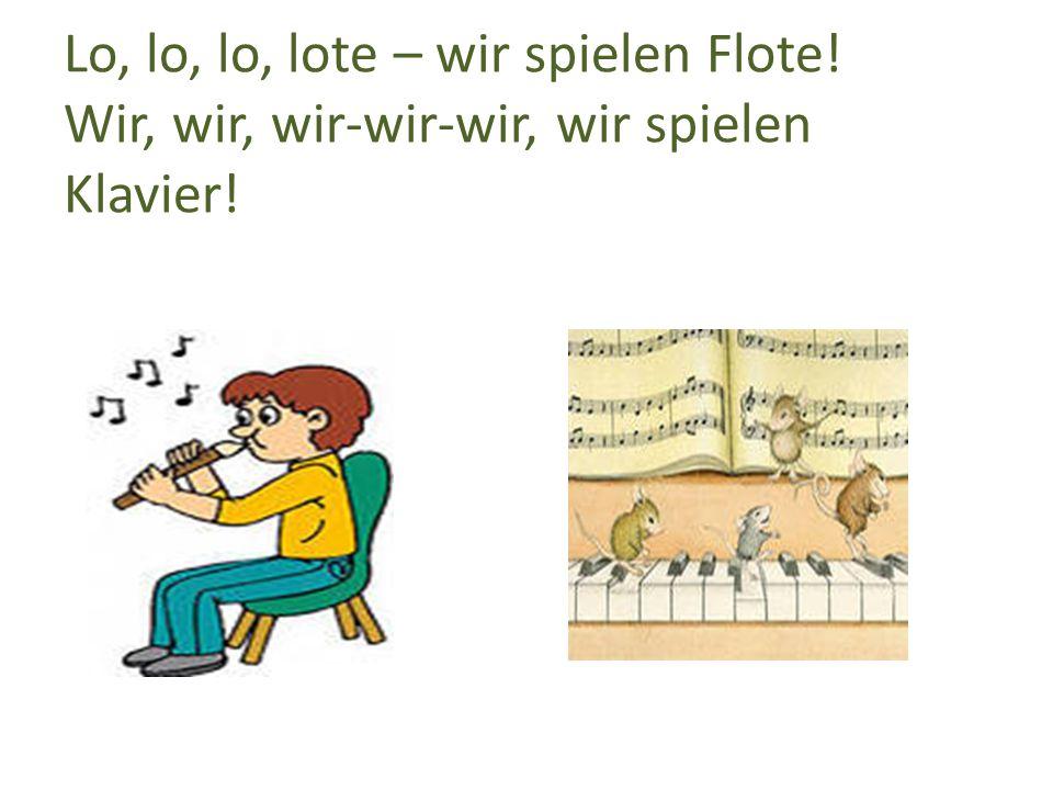 Tra-la-la-la-lare, Wir spielen Gitare!