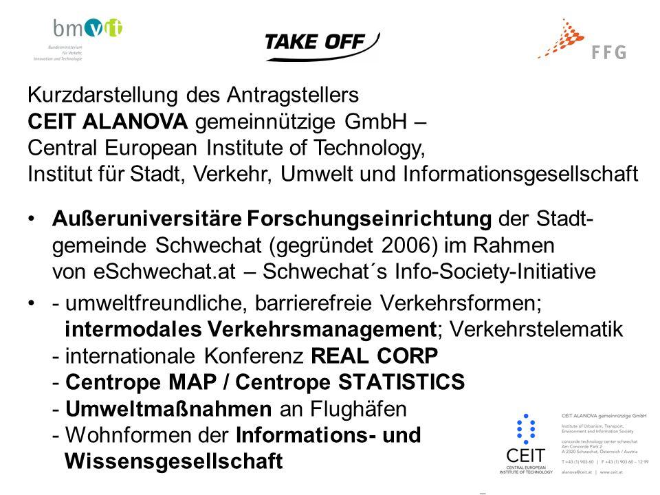 Ziele des Projekts Ziel von AIRCLIP war es, aufgrund der Best-Practices an internationalen Flughäfen die Implementierungsmöglich- keiten an den österreichischen Flughäfen zu untersuchen und daraus Strategien- und Handlungsempfehlungen für deren weitere Umsetzung zu entwickeln.