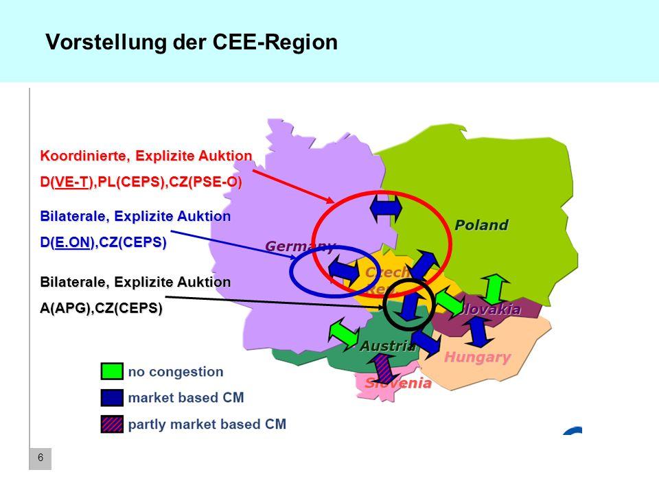 7 Zeitplan für die Implementierung koordinierter Auktionen in der CEE-Region Bis 15.