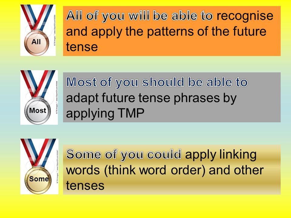 Future Tense The future tense in German is constructed using the verbwerden.