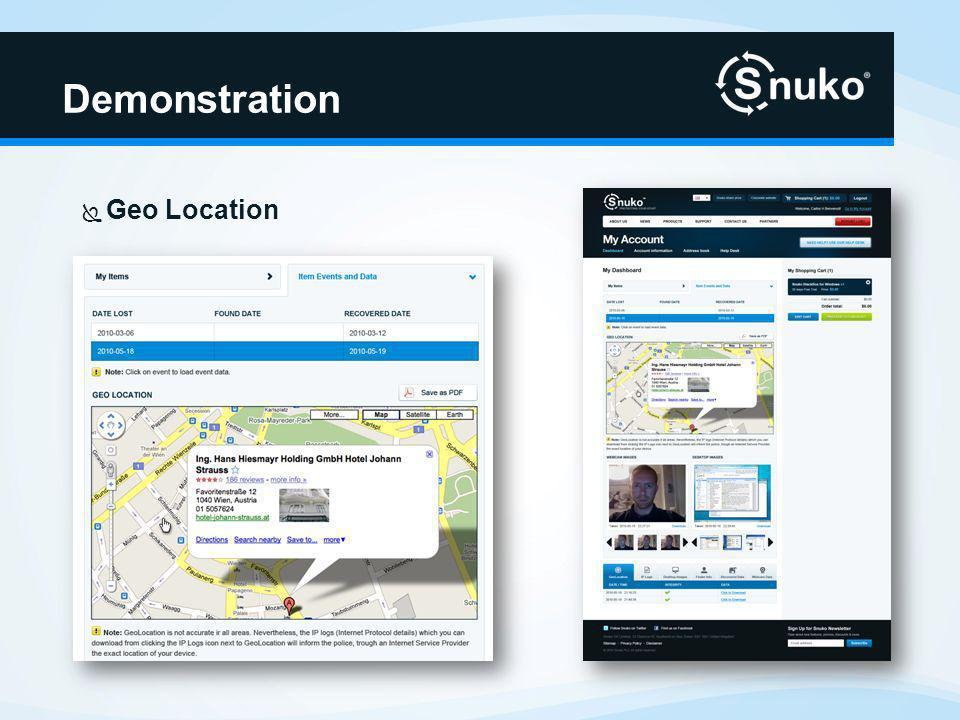 Demonstration Webcam und Desktop-Bilder
