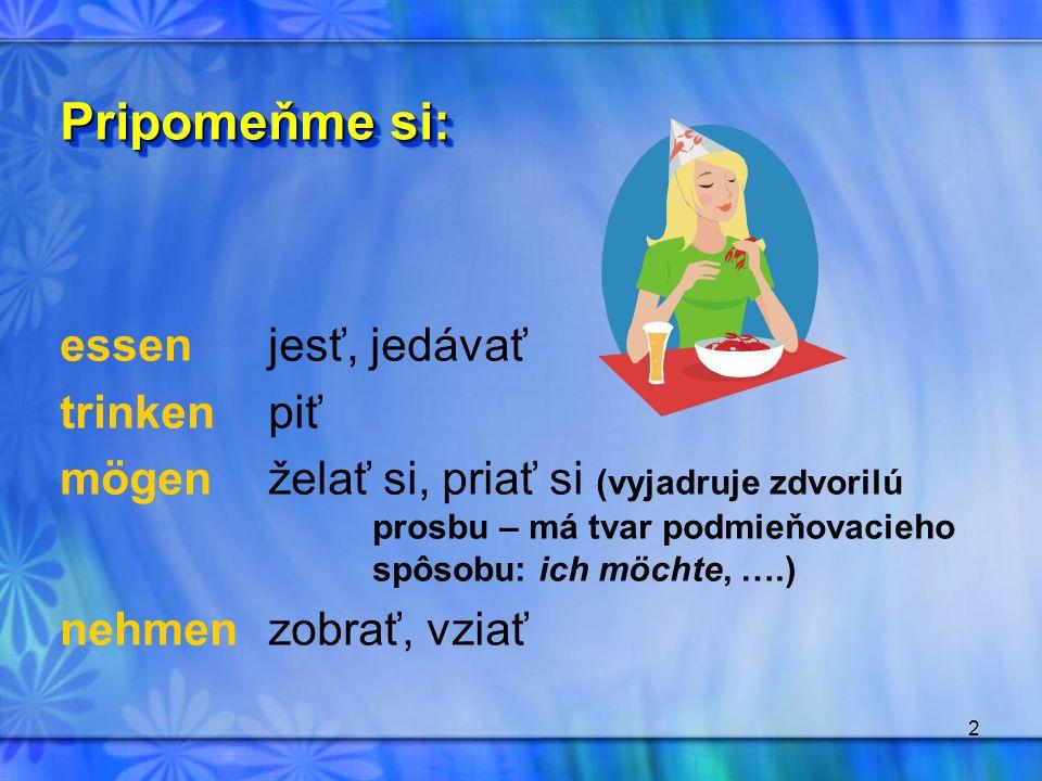 3 Doplňte správny tvar slovesa v zátvorke: 1.Was ……….