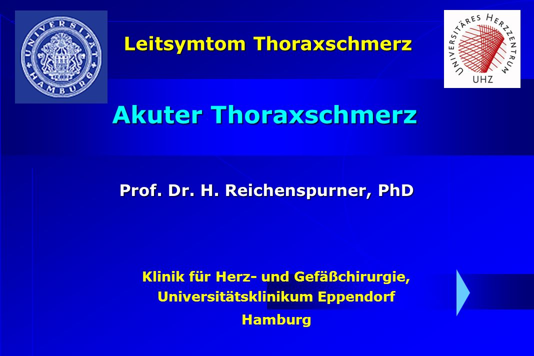 LeitsymptomDifferentialdiagnose Thoraxschmerz Aneurysma/Dissektion d.
