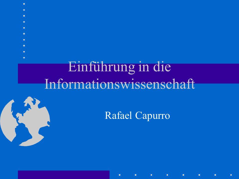 Übersicht Kapitel 1: Lehre und Forschung Kapitel 2: Historische Aspekte Kapitel 3: Grundbegriffe Kapitel 4: Der elektronische Informationsmarkt Kapitel 5: Wissenserschließung und - darstellung