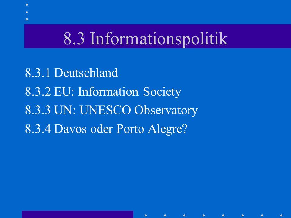 8.4 Informationsethik 8.4.1 Was ist Ethik.8.4.2 Was ist Informationsethik.