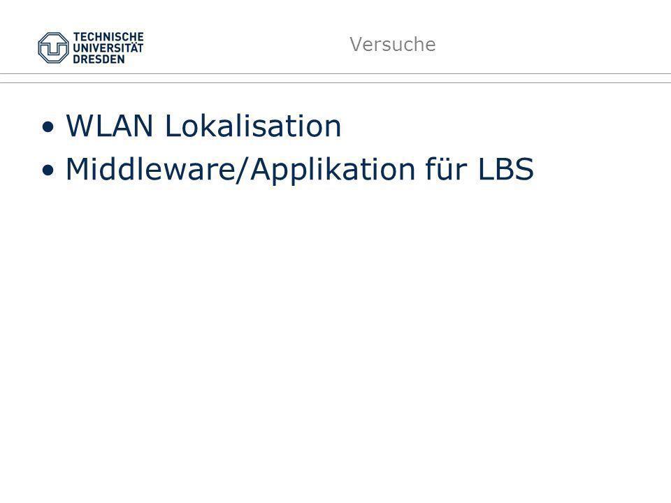 Localisation LBS Infrastructure