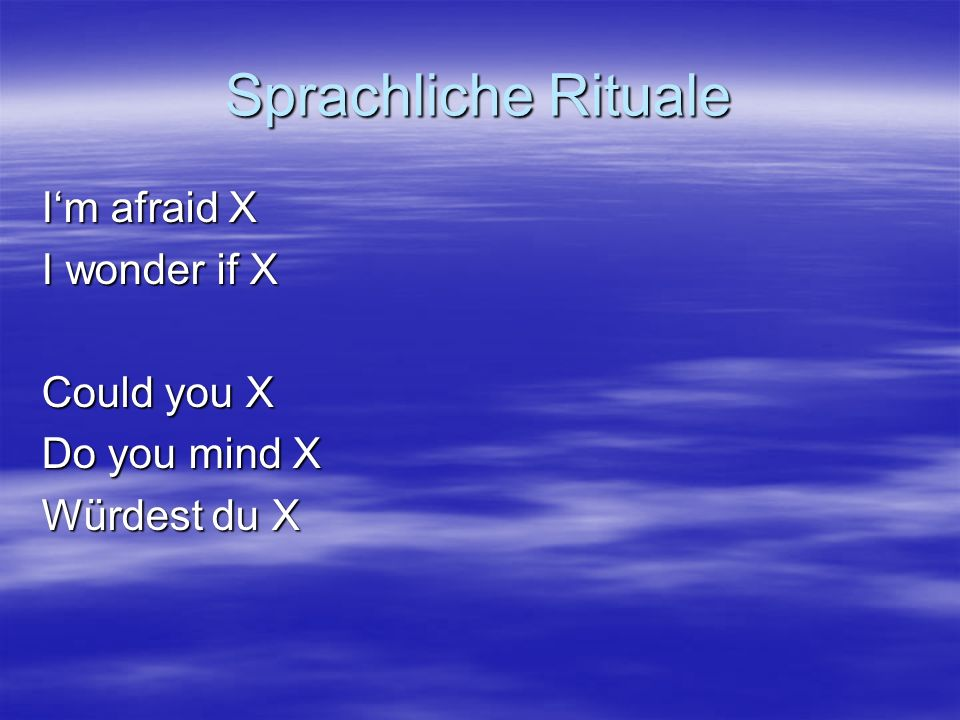 Höfliche Aufforderung Could you please VP.Would you mind V-ing.
