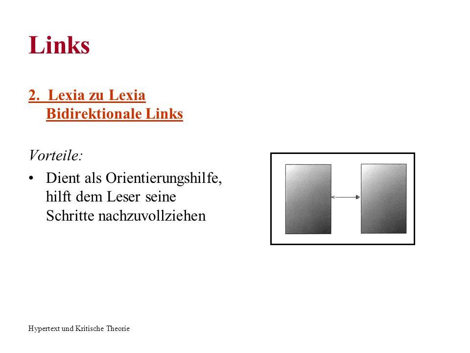 Hypertext und Kritische Theorie Links 3.