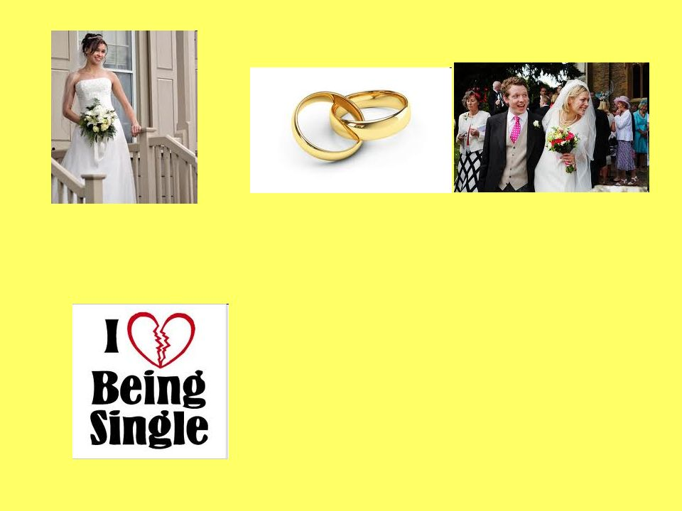 Lesson Objectives To be able to understand and use the language to discuss the various advantages and disadvantages of getting married or remaining single To be able to give opinions To be able to explain statistics