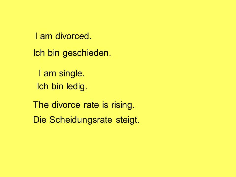 Vorteile der Ehe Wenn man verheiratet ist, fühlt man sich nicht allein.