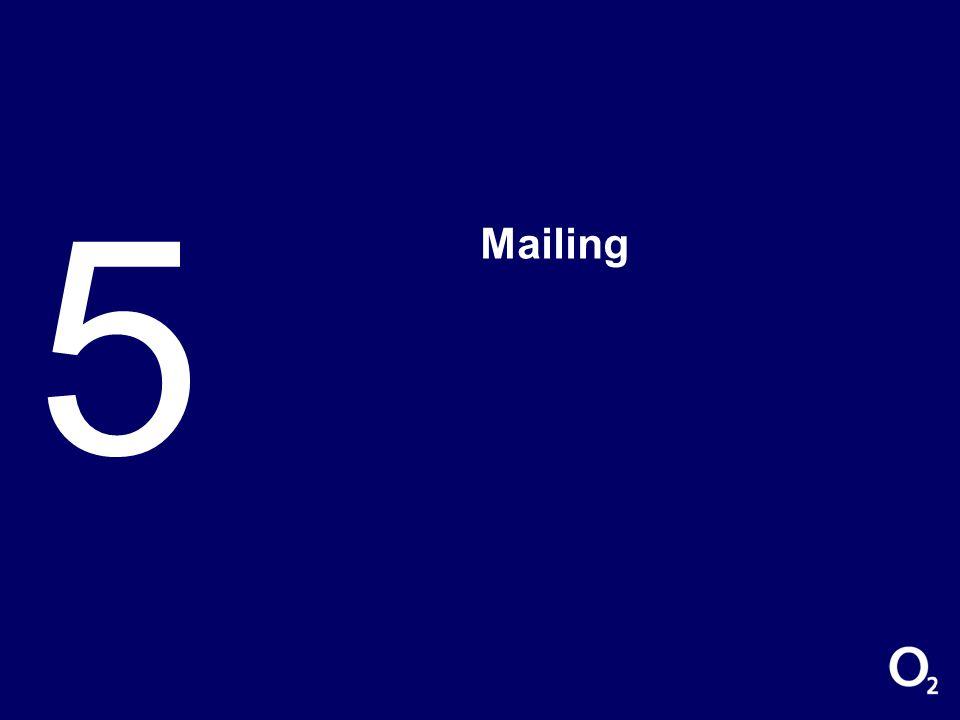 Mailingaktion ASC/ESC Eigenregie Erstellen von Briefvorlagen und Prüfung durch die Fachabteilung Mit euren Adressen über Marketing versenden oder selbst vor Ort gehen Ansprechpartner Oliver Burauen Senior Marketing Manager Alternativ Sales Channel (ASC) & Electronic Sales Channel (ESC) Oliver.Burauen@o2.com