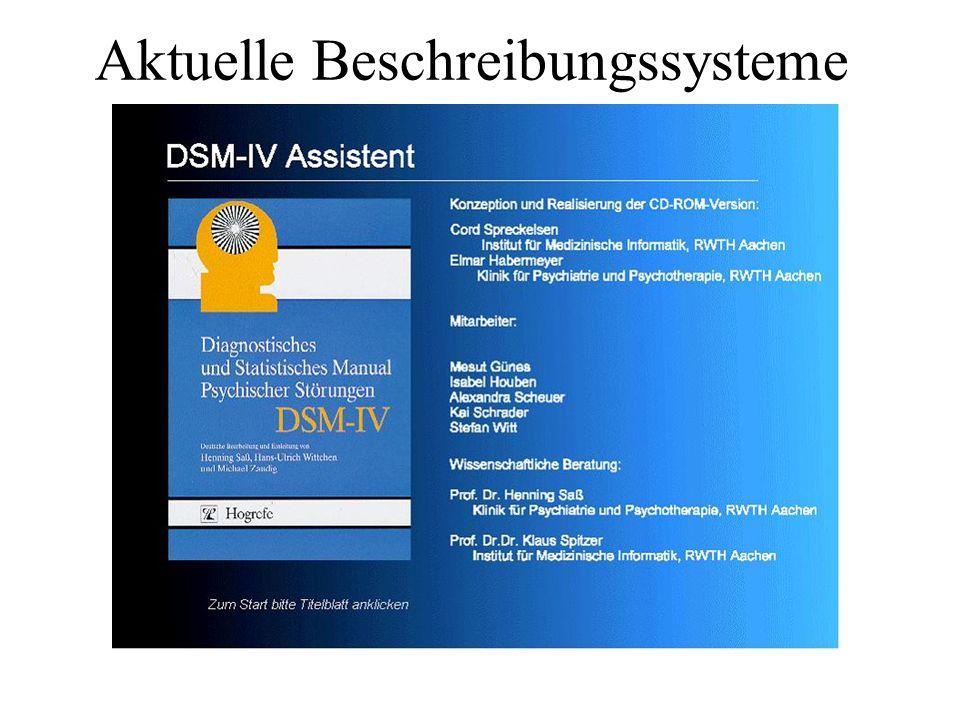 DSM IV Achse 1