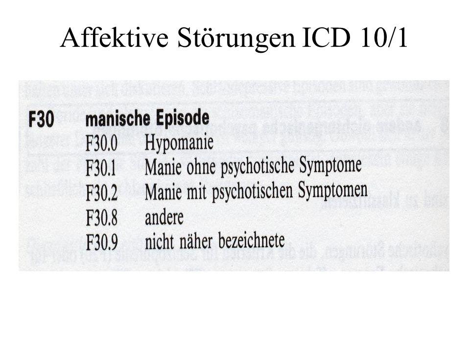 Affektive Störungen ICD10/2