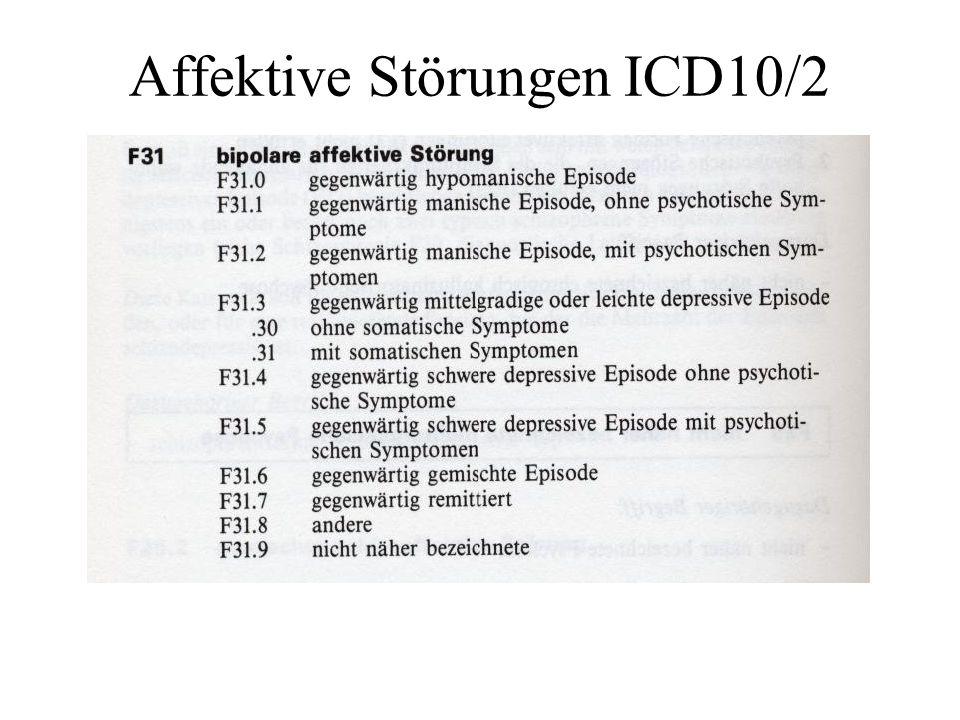 Affektive Störungen ICD10/3