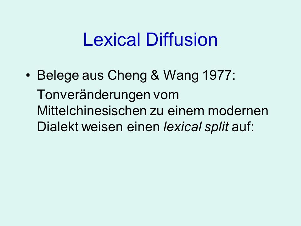 Lexical Diffusion Heutiger Ton MC initialer Konsonant3b2b b67 v13 d1114