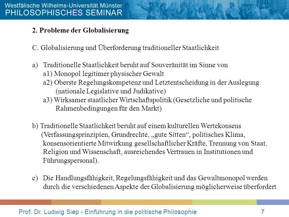 Prof.Dr. Ludwig Siep - Einführung in die politische Philosophie8 3.