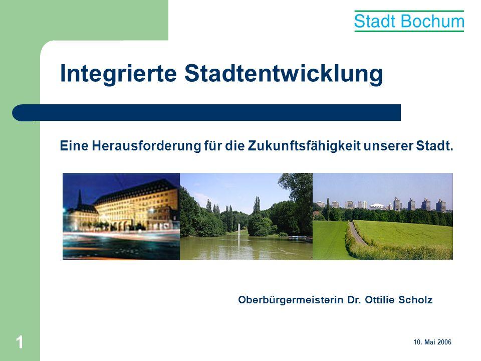 2 Integrierte Stadtentwicklung Bochum und die Region