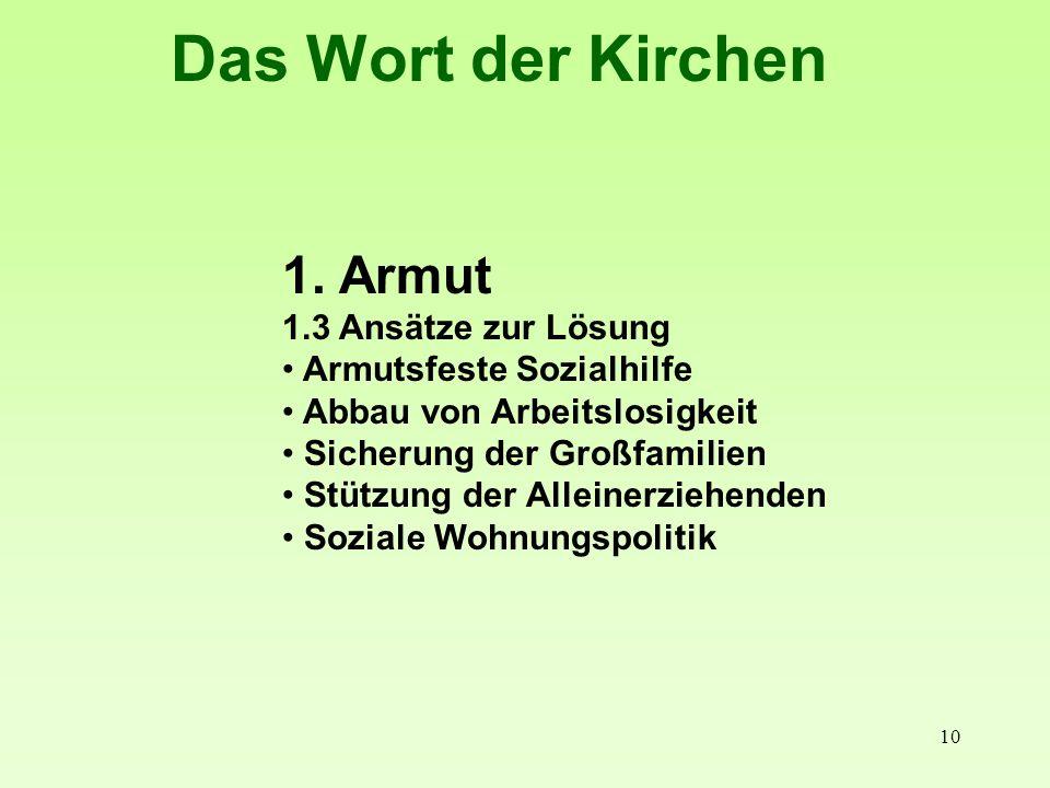 11 Das Wort der Kirchen 2.