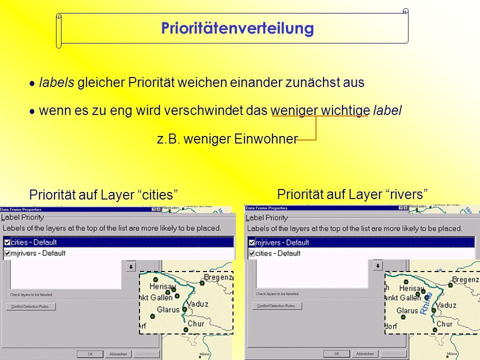 Zoomen: Dynamic Labeling ZoomZoom Grevenmacher nicht beschriftet Grevenmacher beschriftet