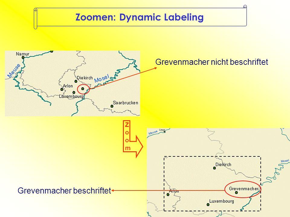 Schriftgröße bleibt Schrift zoomt mit Zoomen: Reference Scale
