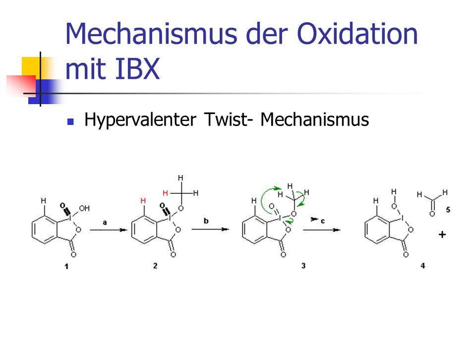 Beispiel: IBX-Oxidation in der Totalsynthese von Eicosanid
