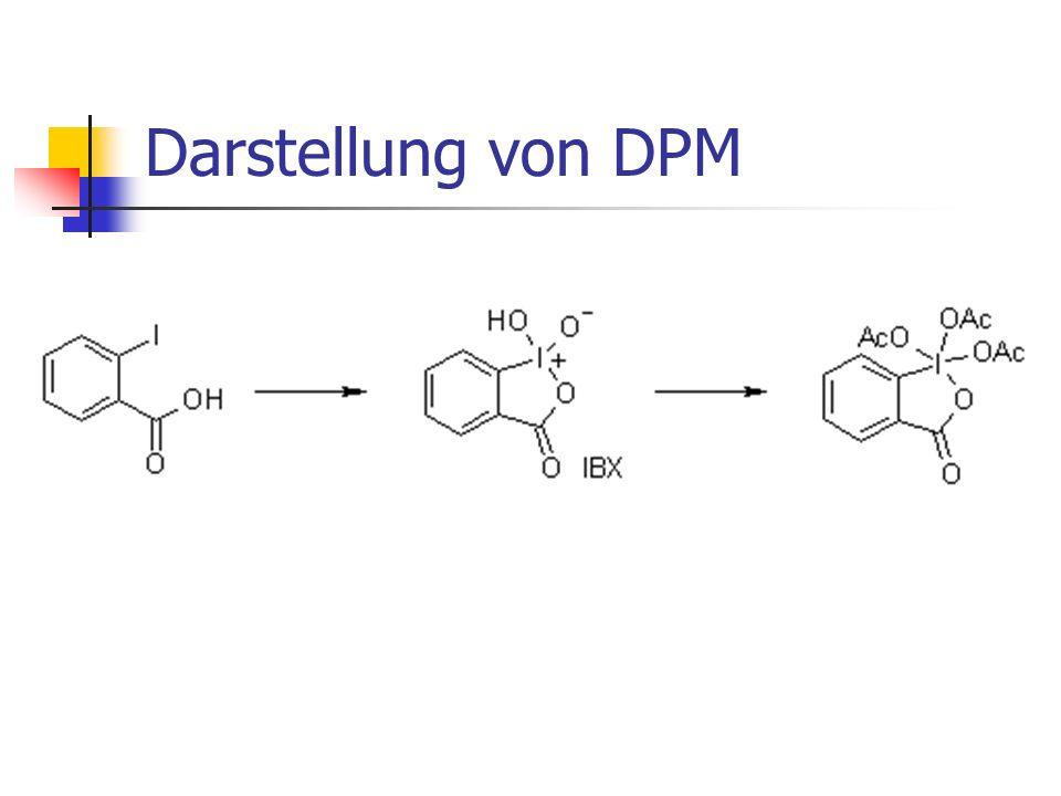 Dess-Martin-Oxidation Oxidation eines sekundären Alkohols zum Keton
