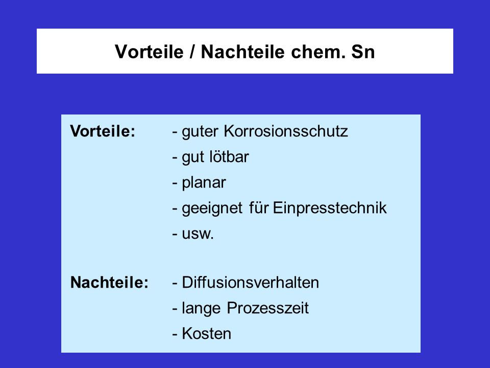 Verfahrensbeschreibung chem. Sn (horizontal)