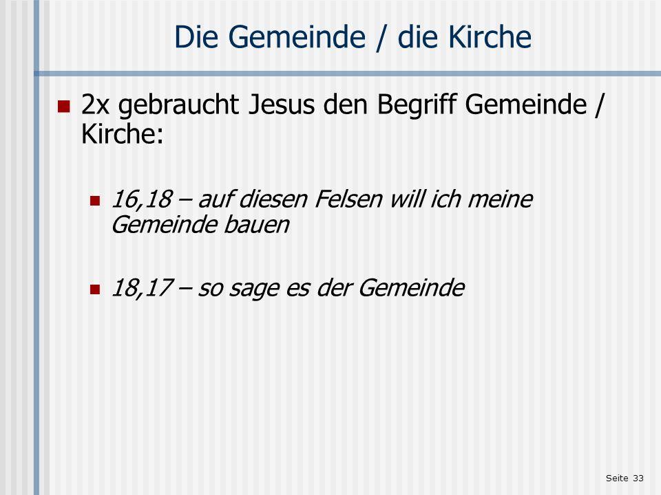 Seite 34 Literatur Ernst Aebi: Kurze Einführung in die Bibel Zürich: Verlag Bibellesebund, 2.