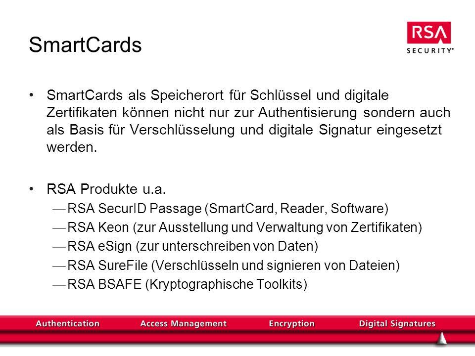RSA Mobile Authentisierung (I)