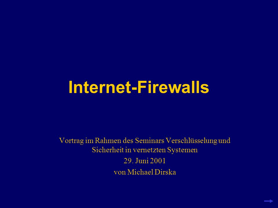 Sicherheit im Internet? Verbindung zum Netzwerkkeine Sicherheit