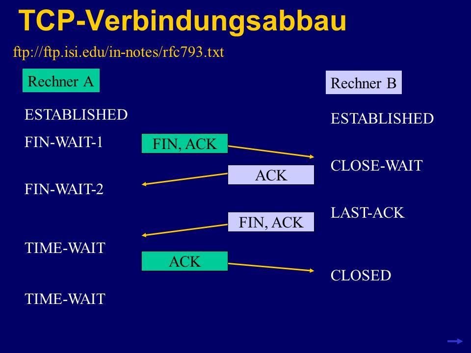 DIY-Firewall mit iptables http://netfilter.samba.org iptables ist in der neuen Linux-Version 2.4 enthalten modularer Aufbau, dadurch erweiterbar stateful inspection durch ip_conntrack-Modul einfache Konfiguration von NAT (Network Address Translation) in diesem Beispiel gibt es keine DMZ und deswegen nur ein Paket-Filter 192.168.1.2 192.168.1.1131.173.12.3 Beispiel-Aufbau: Firewall Router mit zwei Ethernet- Interfaces eth1eth0