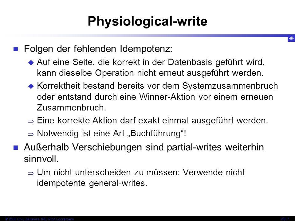 13 © 2008 Univ,Karlsruhe, IPD, Prof.